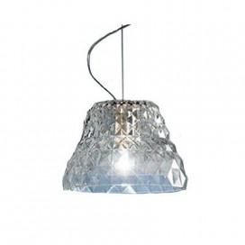 Lampada a sospensione della Leucos modello Atelier in cristallo(in esposizione).