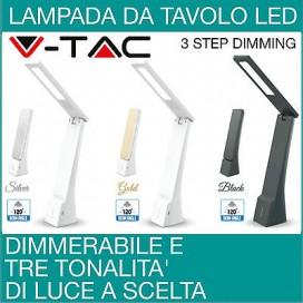 Dimmerabile Led Lampada da Tavolo Lampada da Scrivania Con Braccio Pieghevole