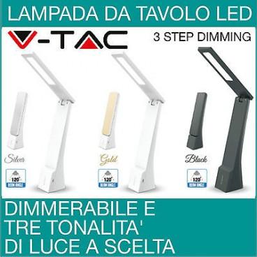 Dimmerabile led lampada da tavolo lampada da scrivania con for Lampade a led da interno