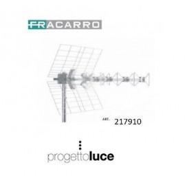 FRACARRO BLU5HD ANTENNA BANDA UHF 5 ELEMENTI CONNETTORE F FRACARRO 217910