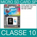 SP | MEMORY CARD SDHC ELITE MICRO SD 32GB CLASSE 10
