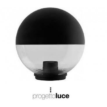 Lampione globo illuminazione giardino esterno sfera 300 mm - Sfere illuminazione giardino ...