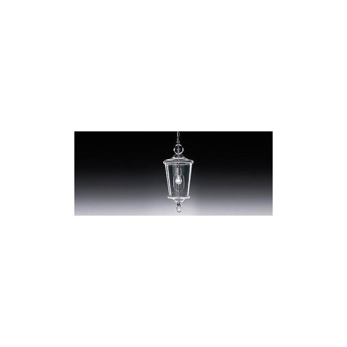 DE MAJO LAMPADA A SOSPENSIONE IN CRISTALLO MODELLIO 9051SO