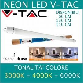 V-TAC | NEON LED ALTA POTENZA TUBO T8 60cm LUCE FREDDA NATURALE CALDA
