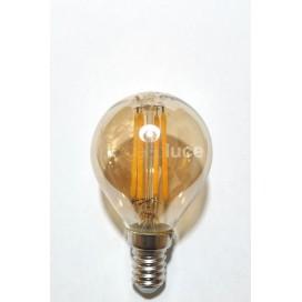 Lampadine led E14 a filamento sfera