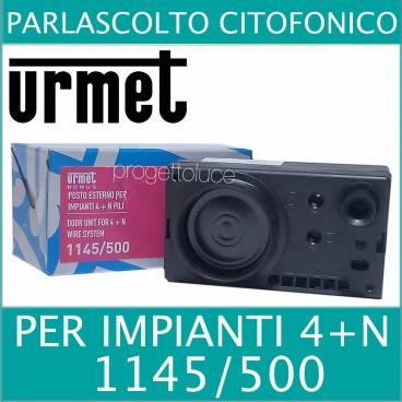 Urmet 1145 500 sinthesi posto esterno audio citofonico 4 n for 500 esterno