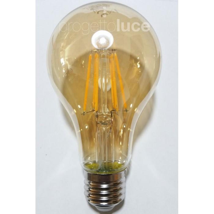 Lampadine led vintage con led a filamento e vetro ambrato for Lampadine led e14 prezzi