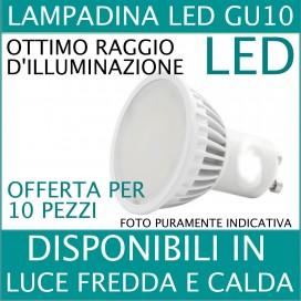 LAMPADINA FARETTO LED GU10 5W V-TAC LAMPADA SPOT GU10 BULBO FARO