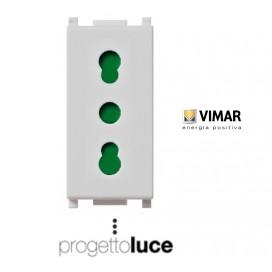 VIMAR 14203 PRESA BIPASSO 10/16A PLANA