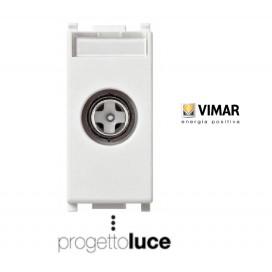 VIMAR 14300.10 PRESA TV PASSANTE PLANA