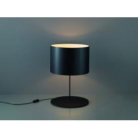Karboxx lampada da tavolo Half Moon nero/arancione