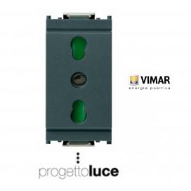 VIMAR IDEA 16203 PRESA BIPASSO 10/16A ANTRACITE