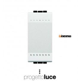 BTICINO N4005N PULSANTE LIVINGLIGHT BIANCA