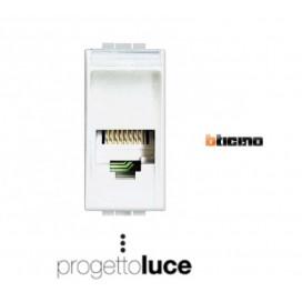 BTICINO N4258/11N PRESA TELEFONICA LIVINGLIGHT BIANCA