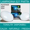 WISDOM   LAMPADINA LED E27 PIATTA DISCO 20W 30W
