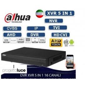 DAHUA XVR4116HS DVR/NVR 5 in 1 IBRIDO 16 CANALI CVBS/HDCVI/HDTVI/AHD