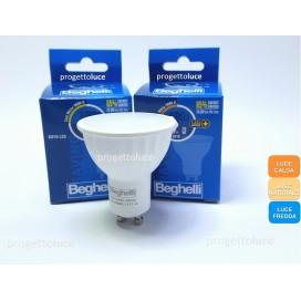LAMPADINA LED GU10 7W BEGHELLI SPOT GU10