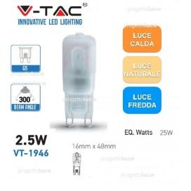 V-TAC LAMPADA LED G9 2,5W 220V