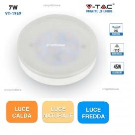 LAMPADINE LED DISCO 7W GX53 V TAC