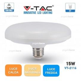 V-TAC VT-2116 LAMPADINA LED E27 15W UFO