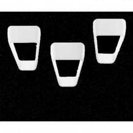 Kundalini applique modello Frame bianco