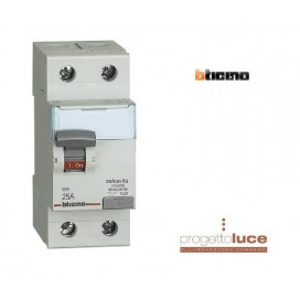 BTICINO GC723AC25 DIFFERENZIALE PURO 25A SALVAVITA 0,03 A