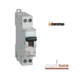 BTICINO FC881C10 INTERRUTTORE MAGNETOTERMICO 1P+N 10A 1 MODULO 4,5 KA